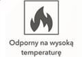 Odporny na wysoką temperaturę